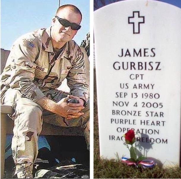 Remembering my dear friend Capt. James M. Gurbisz, an all around awesome guy who payed the ultimate sacrifice. I am so proud to have known you. Thank you for your service. @ArlingtonNatl #legendsneverdie https://t.co/YQChbaAzd4