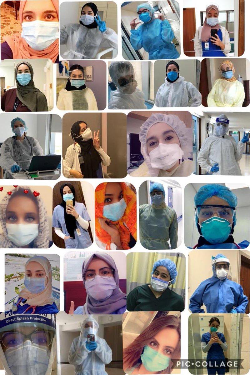 معنويات مرتفعة وفرحة مستحقة بمناسبة عيد الفطر السعيد لمجموعة من الكوادر الطبية العاملة في مستشفيات الدولة. #الإماراتpic.twitter.com/dRGFKgfFxO
