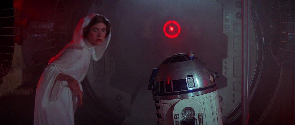 Star Wars Episode IV: A New Hope (1977)  43 years young today - New 4K Blu-ray looked 👌🏻  #HBD #CoronavirusLockdownUK #screenshot https://t.co/xzGbaBzZ55