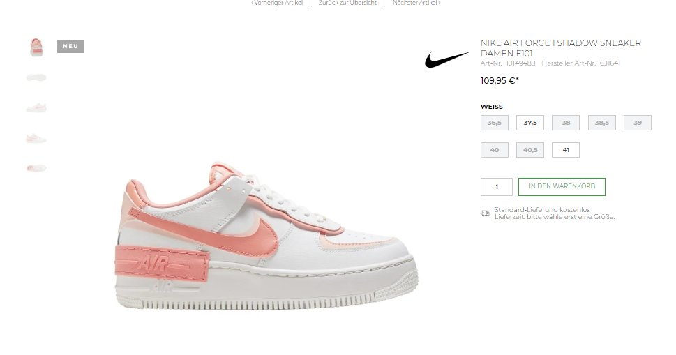 Moresneakers Com On Twitter Ad Wmns Nike Air Force 1 Shadow