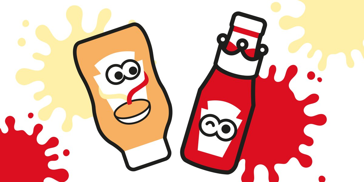 Victory is ours... Team Ketchup wins! If you can't pick sides, meet our friend: Mayochup.  Half the King of Condiments... half Mayo. #TeamKetchup #HeinzKetchup #TeamMayochup