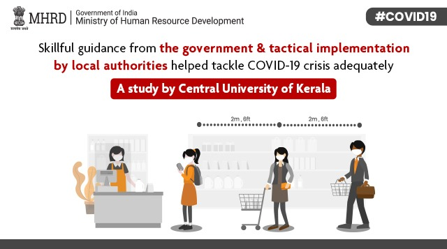 test Twitter Media - Central University of Kerala's PhD Scholar, Jeena BP conducted a case study on the experiences of a Panchayath president in a rural area in Kasaragod district to reveal how the govt. has successfully tackled #covidcrisis. https://t.co/8mcv3n3FMb