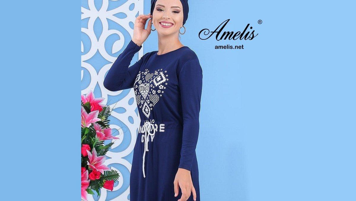 Robe Longue Décontractée https://www.amelis.net/30303  #RobeLongue #RobeDInterieur #Amelis #AmelisParis #Fashion #RobeLongue #HijabLove #Heart #Dress #ModestFashion #ModestClothing #ModestFashionBlogger #ModestFashionista #MaxiDresses #HijabLook #HijabOotd #HijabStylepic.twitter.com/mIF3hcYNem