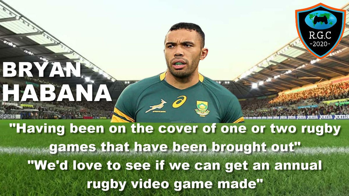 The Rugby Video Game Campaign On Twitter We Have The Support Of Bryanhabana He Agrees That An Annual And Fully Licensed Rugby Video Game Is Definitely Needed Rugby21 Worldrugbyvideogame Rugbygaming Rugbyvideogame Https T Co Cqudbgmv2t