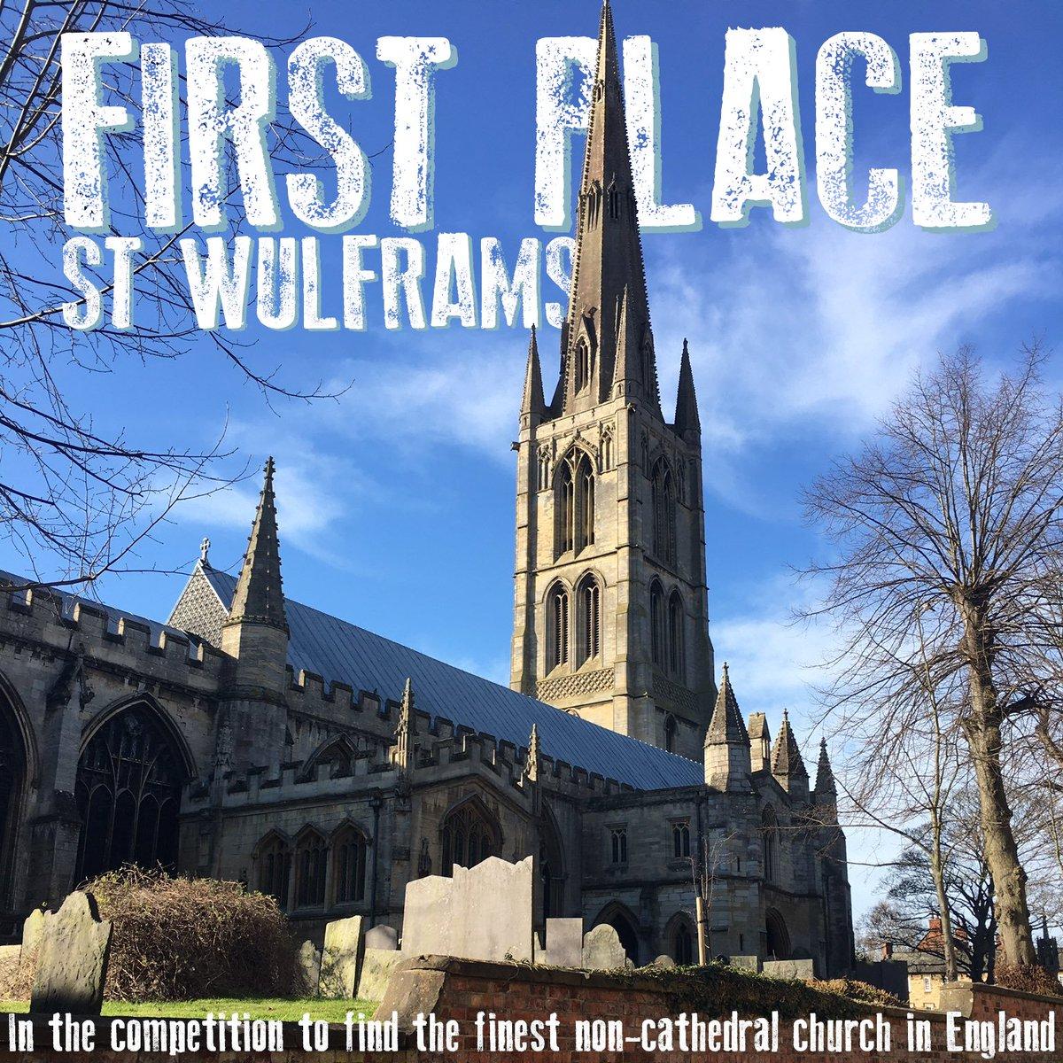 The Winner is @StWulframs Church, in Grantham! Congratulations! https://t.co/8y26MeJOQN