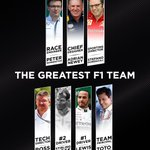 So, there we have it, the #GreatestF1Team 😍  Like any team looking to make their mark on the grid, they need a name ✍️  What should we name these guys?  #F1 #Formula1