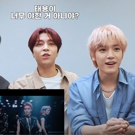 Replying to @alientyong: johnny: doesn't taeyong look too erotic?  the taeyong in question vs. taeyong beside him