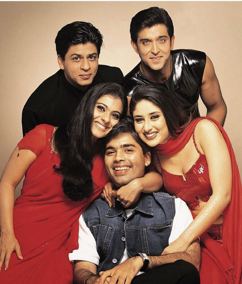 Happy Birthday #KaranJohar (25/05)   What are your favourite films of his?  @karanjohar @DharmaMovies @itsKajolD @iamsrk @iHrithik   #bollywodo #ShahrukhKhan #Shahrukh #SRK #HrithikRoshan #kajol #KareenaKapoorKhan