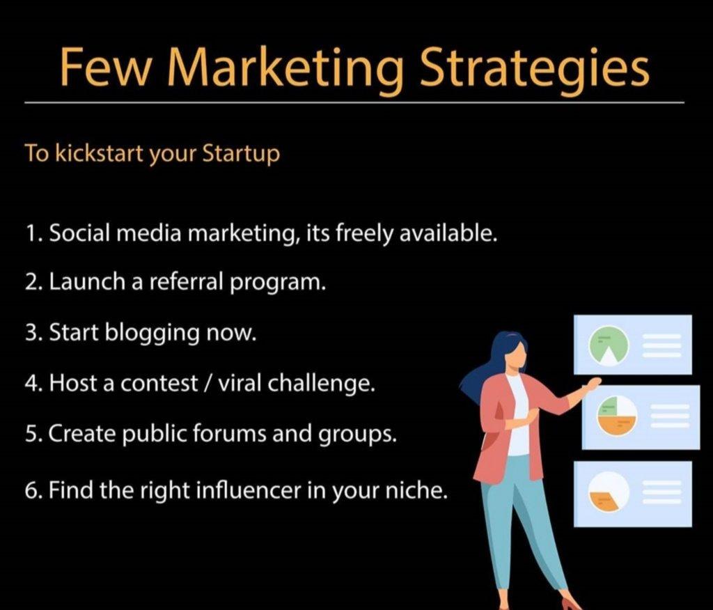 Few low budget #marketing #strategy every #startup can afford. #SocialMedia #Entrepreneur #success #MondayMotivation #Startuptips #business #IndiaStartup #mondaythoughts #investmentpic.twitter.com/fDym2JPV7g