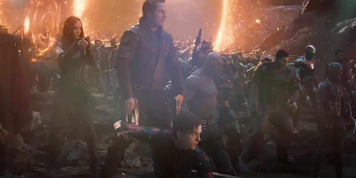 I watch the end of #AvengersEndgame often, to feel better about shit. I know, I know. https://t.co/SGqyjC6twG https://t.co/OFWhpd5Bbr