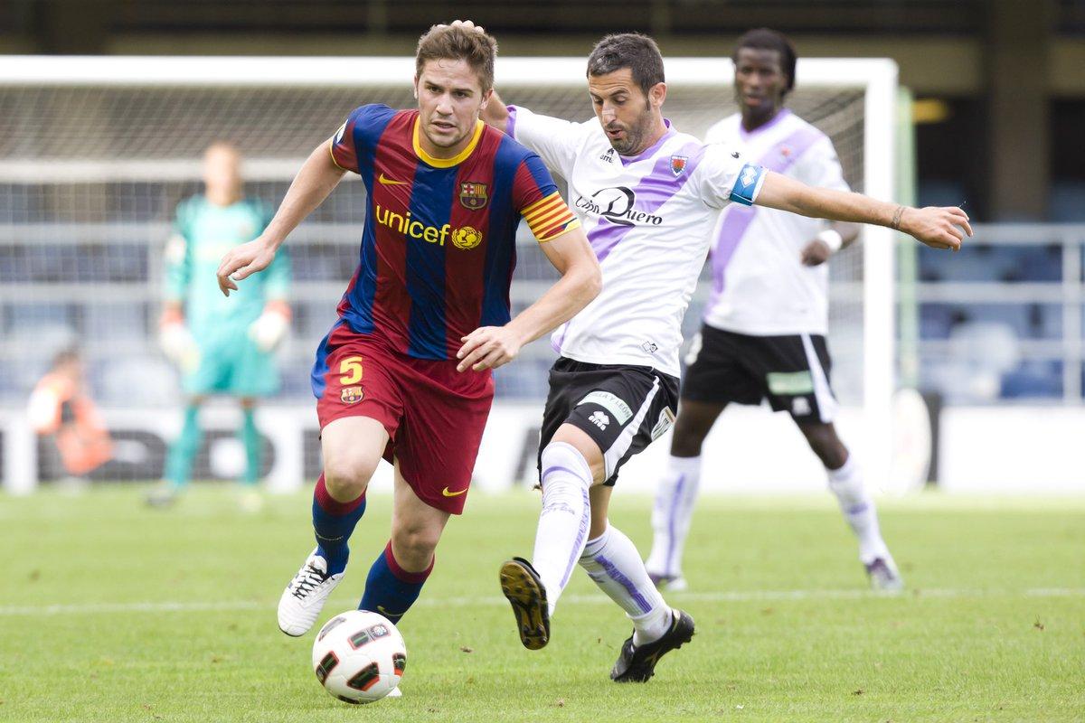 📷 Galeria de records  👤 Andreu Fontàs  🔵🔴 Barça B (2008/11)  👉 Partits jugats: 7️⃣2️⃣ ⚽️ Gols: 2️⃣  #ForçaBarça🔵🔴 https://t.co/jJCzDUadk4