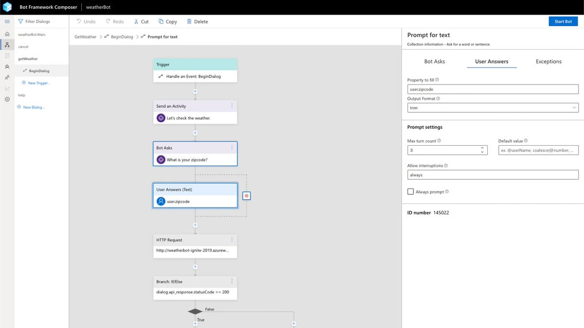 日本語の記事『Bot Framework Composer GA! デスクトップアプリでチャットボットをコードレス開発(1): Todo テンプレートで挙動確認』ーー『Microsoft Bot Framework Composer』デスクトップ版はこちらからダウンロードできるね(GitHub)ーー