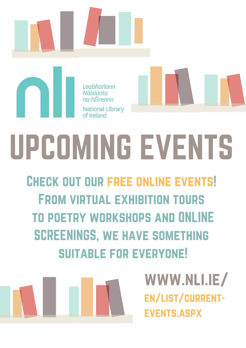 Check out @NLIreland free online events this week: nli.ie/en/list/curren…