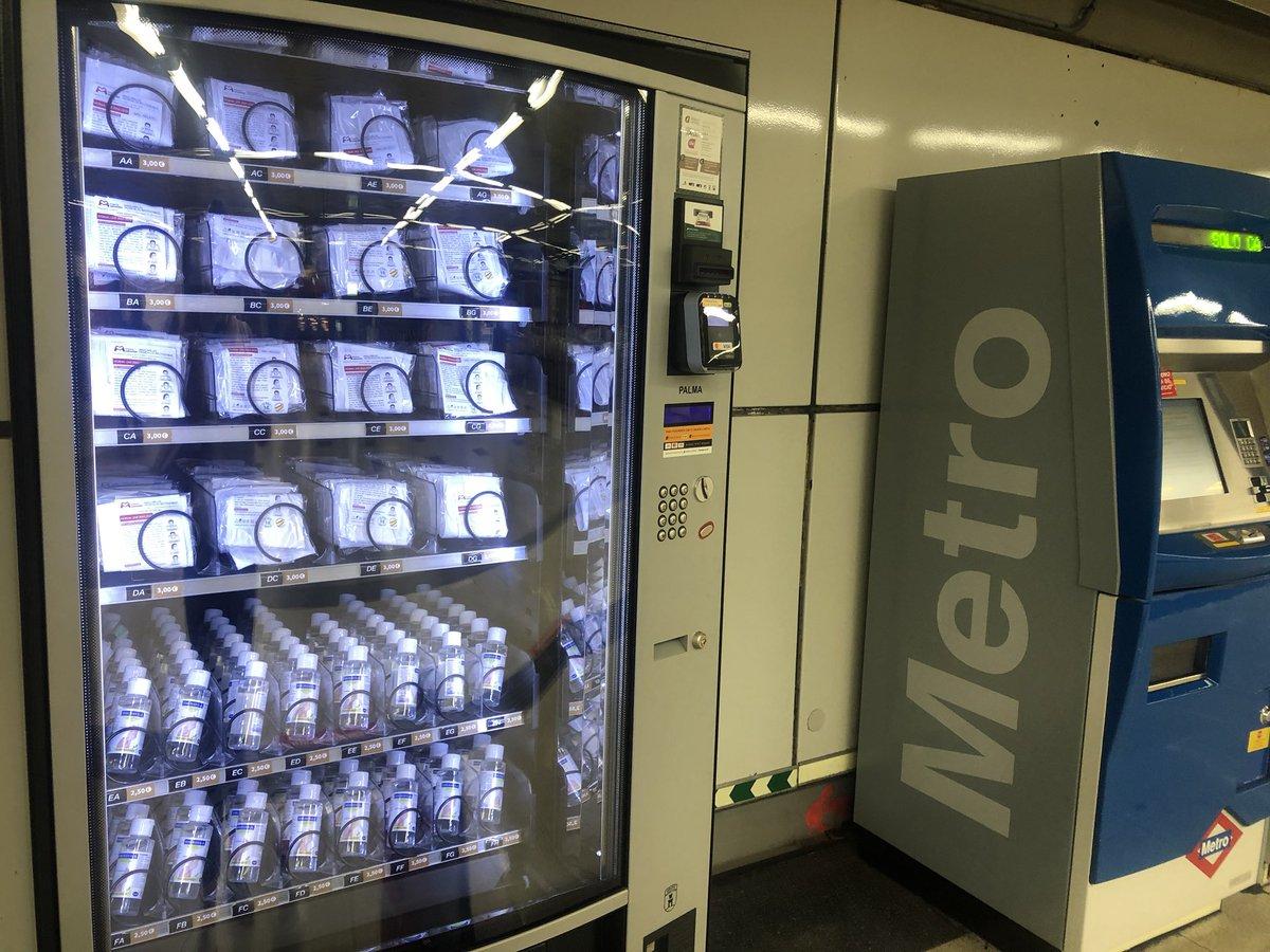 Metro de Madrid y la CAM garantizan antes el negocio privado con las mascarillas que la salud de sus propios trabajadores. https://t.co/pCdSMZ4QXe