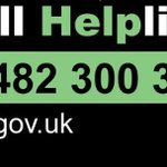 Image for the Tweet beginning: The #HullHelpline is there to
