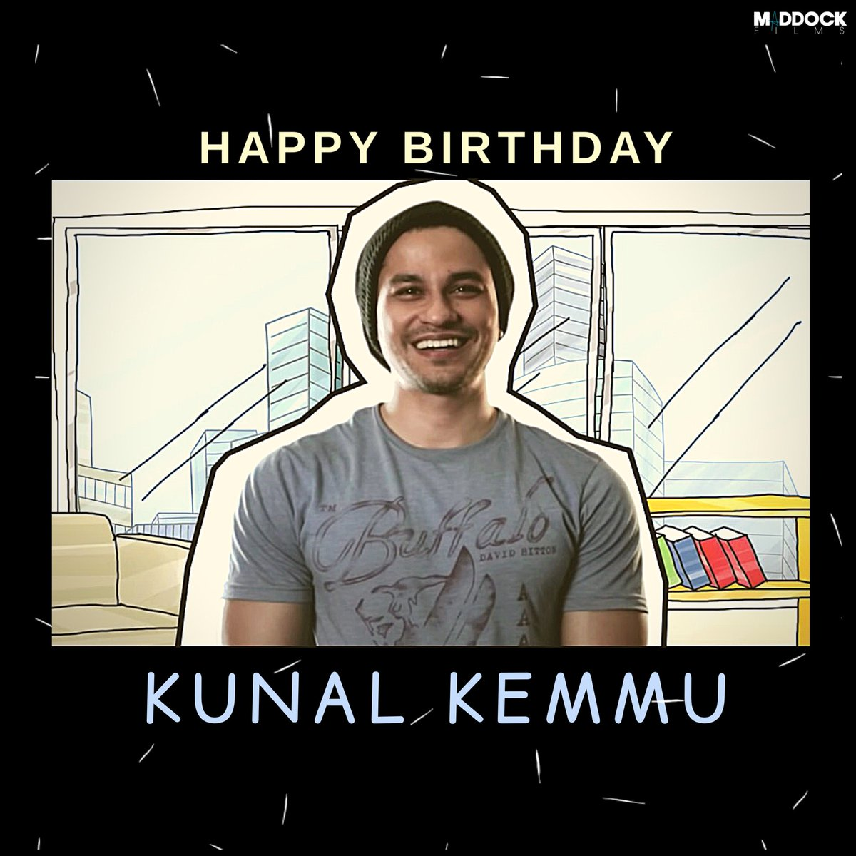 Here's wishing the super talented @kunalkemmu, a very happy birthday!😎 #HappyBirthdayKunalKemmu #GoGoaGone