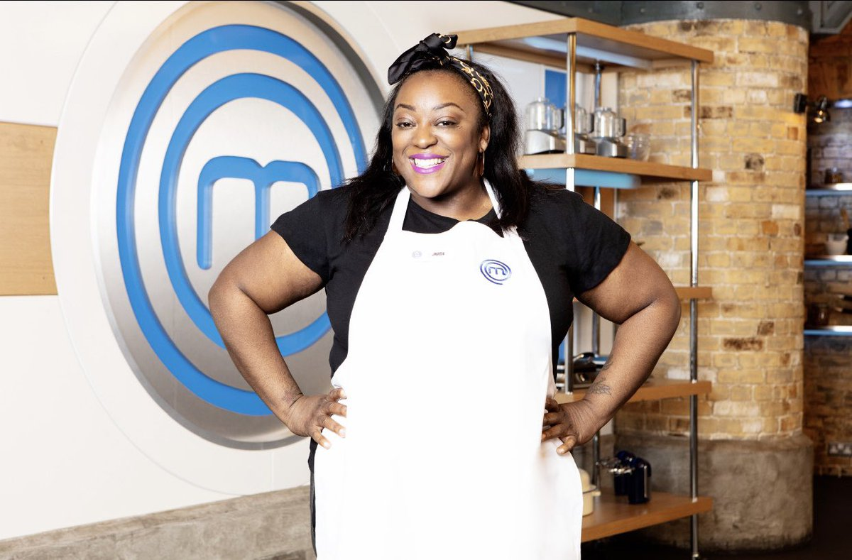 """EXCITING NEWS. I'm so thrilled to announce that I'll be on Celebrity @MasterChefUK this summer on @BBCOne and @BBCiPlayer! #MasterChefUK #CelebrityMasterChef."" #JudiLove #Comedian #TV #BBC"