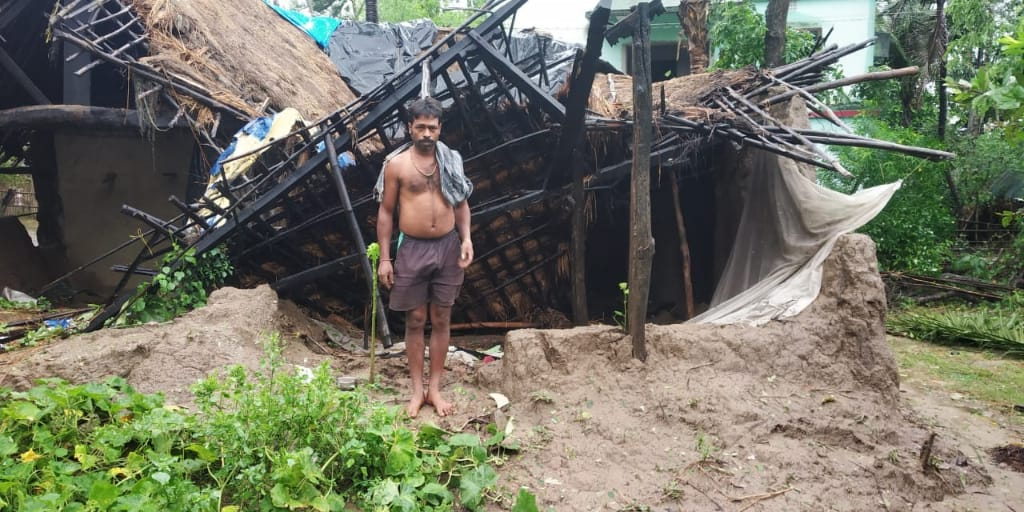 Days after Cyclone Amphan, Odisha districts still in darkness #Amphan   https://t.co/OKPC2xLtsl https://t.co/K5NWZV9YhE