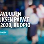 Image for the Tweet beginning: Vaikuttavuuden tutkimuksen päivien 2020 abstraktihaku