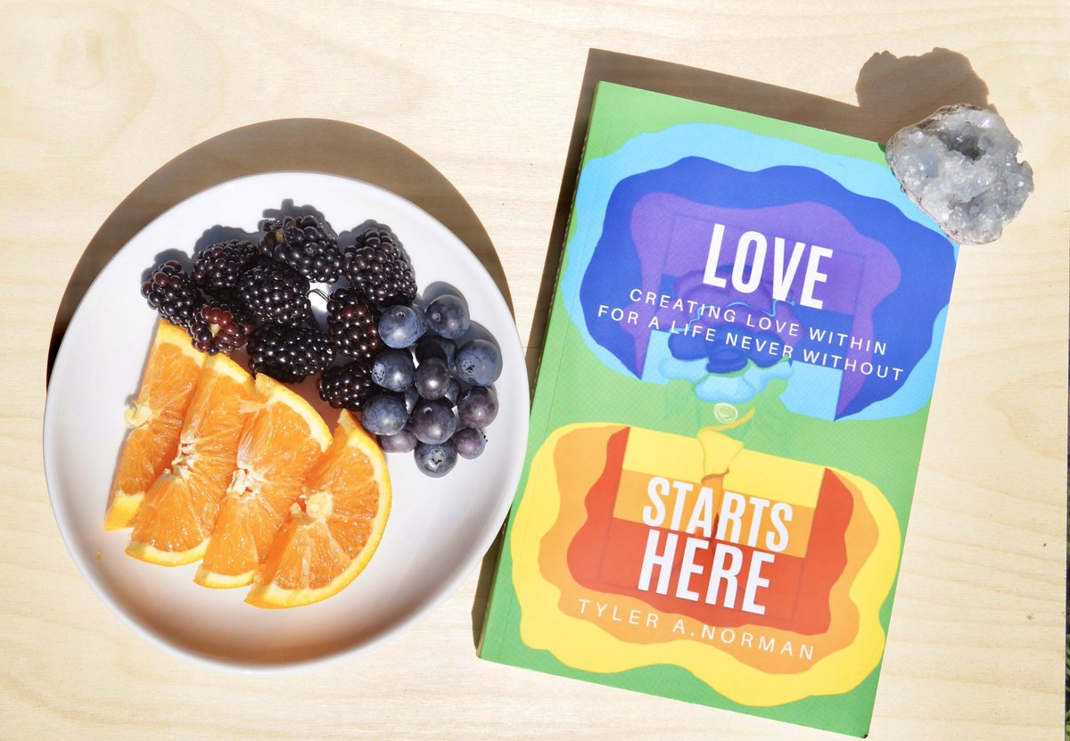 My first book!!  LOVE STARTS HERE | Creating a Life of Love Within for a Life Never Without It takes an an open individual through the journey of embodying unconditional love within the self physically, mentally, emotionally, and spiritually! #lovestartsherepic.twitter.com/w2rKWzzD1X