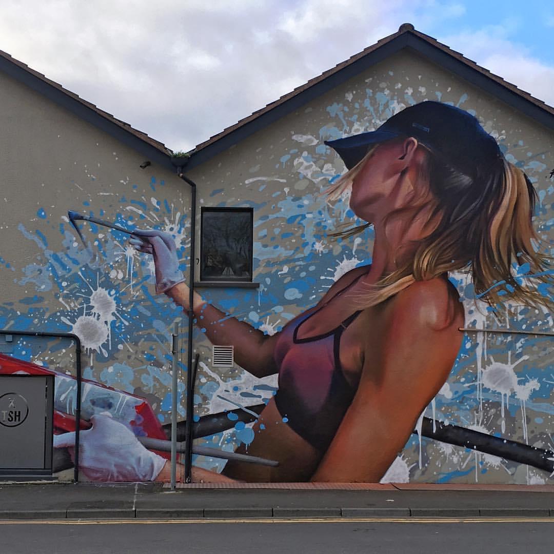 ... don't let time pass, choose colors... leave your mark. Art by Irony in Belfast, UK #StreetArt #Art #Rebel #Colors #beauty #Graffiti #Mural #UrbanArt #Belfastpic.twitter.com/YYU0JxTMAr