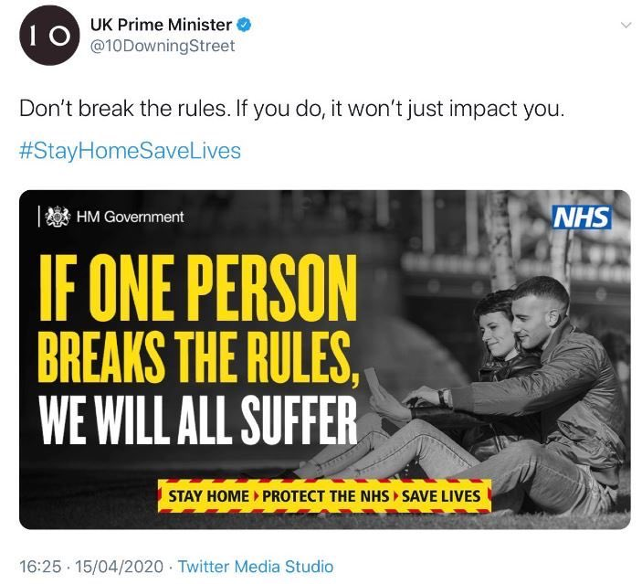 +UPDATE+  UK govt now removing its own posts & messages on Coronavirus which are considered embarrassing in the light of Boris Johnson retroactively changing the rules to save Dominic Cummings. <br>http://pic.twitter.com/MiVmUrIvJQ