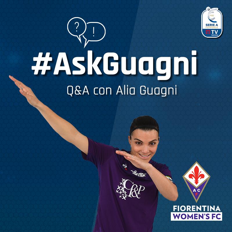 #AskGuagni: hai delle domande che vorresti fare ad @aliaguagni? Hai tempo fino a stasera alle 20.00 per scriverle nei commenti. Alia risponderà con un video alle domande 😍 #SerieAFemminile @TIM_vision #CalcioFemminile https://t.co/TazcgJCIKo