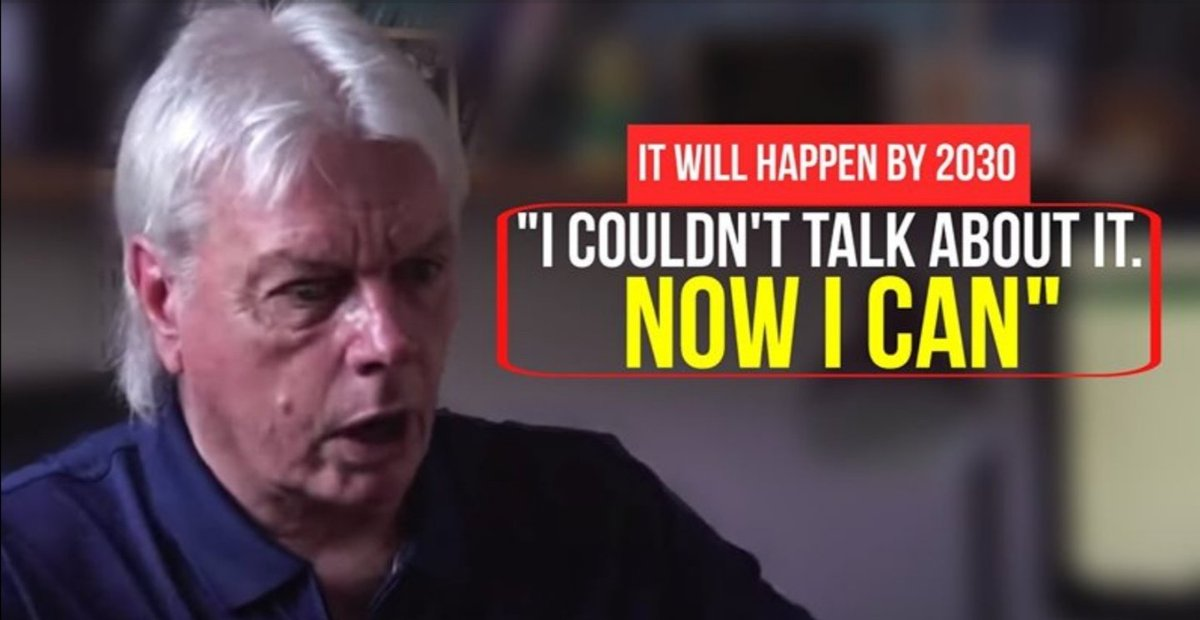 What I started thinking is that Icke is a shapeshifter who spreads a lot of the truth but with no solutions keeping us in 3D fear timeline, that is why he has not been taken out so far. I don't think anymore of him to be the light warrior. #Qanon #WWG1WGA #TheGreatAwakeningpic.twitter.com/ylnFDHbEDj