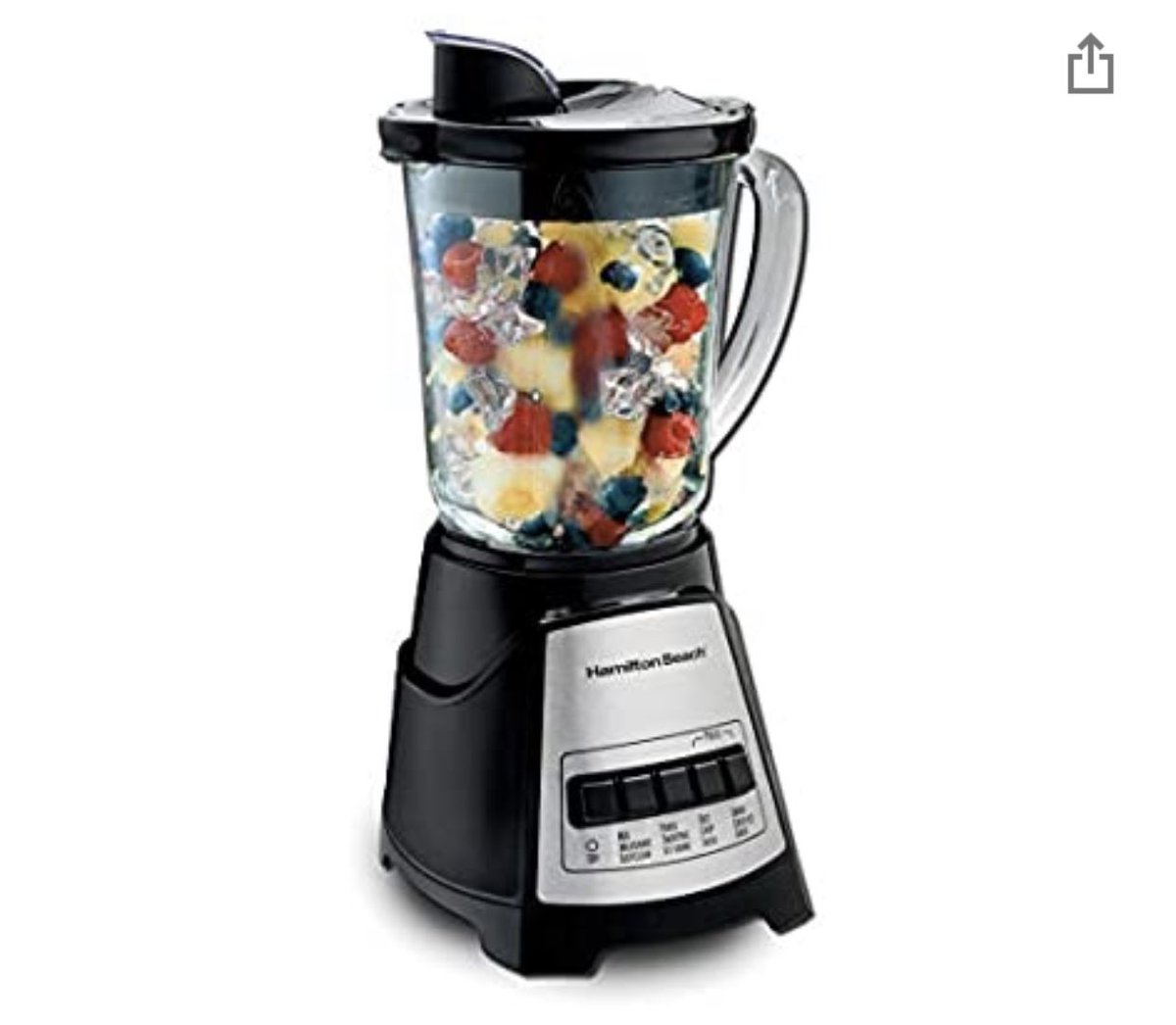 Hamilton Beach Power Elite Blender with 12 Functions for Puree, Ice Crush, Shakes and Smoothies and 40oz BPA Free Glass Jar, Black and Stainless Steel pic.twitter.com/i6PurxQbP4