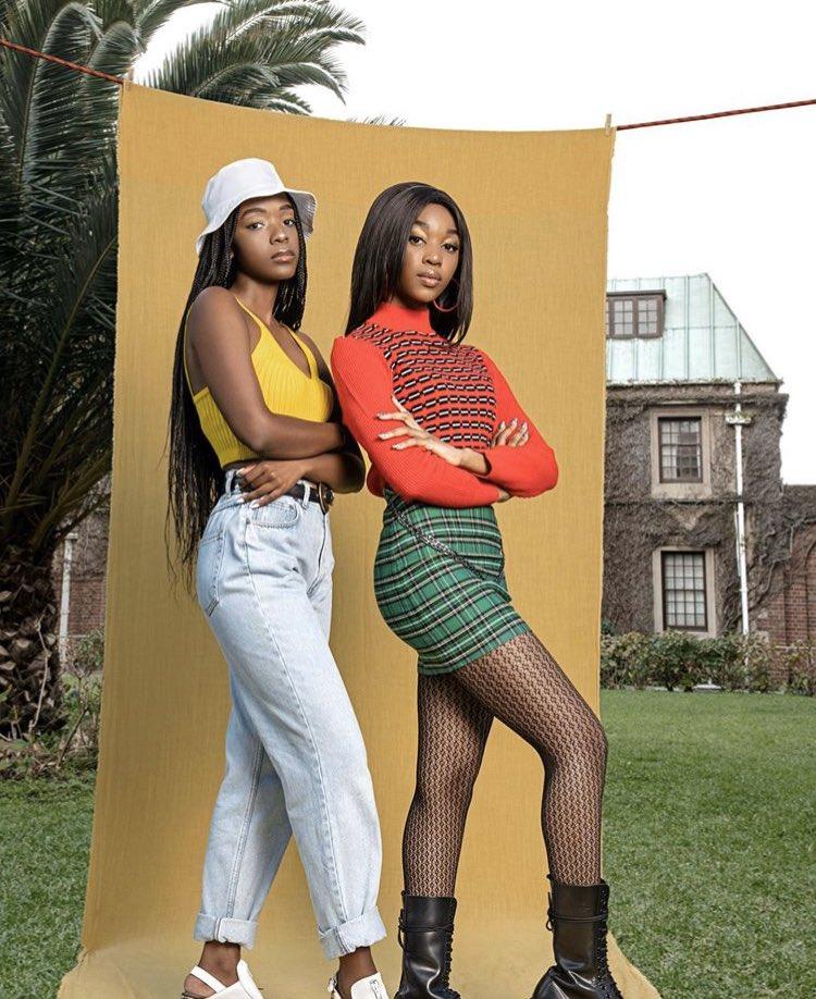 On #AfricaDay, we're celebrating African excellence🤩👑 This 1 goes to the amazing cast of #BloodAndWater, the second African @NetflixSA original - that is now NO.1 in SA & USA 🇺🇸 @ama_qamata @Khosi_Ngema_ @cindythando4 @Arno_Greeff @ThabangMolaba_ @puffydillon @Natasha_Thahane