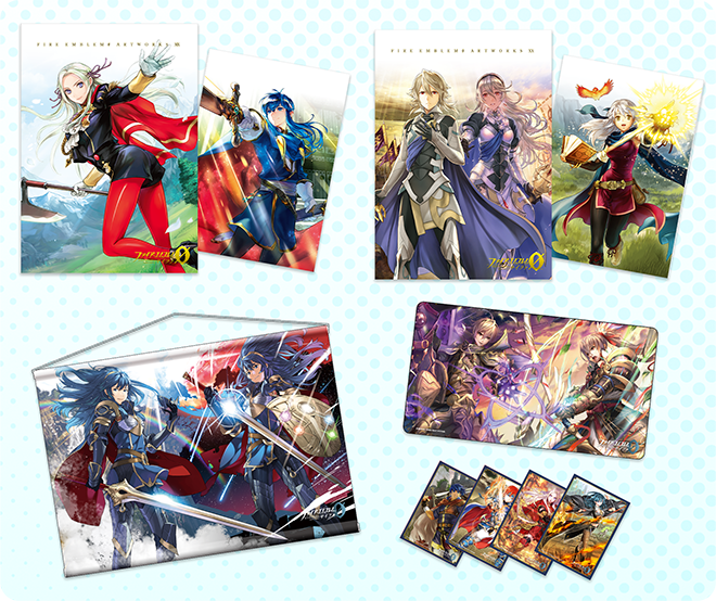 "Cipher merchandise is now available for sale on the Fire Emblem Online Shop! All sorts of items are in stock, notably the brand-new ""Artworks 19"" and ""Artworks 20"" art books. Please don't miss this opportunity to buy them. #FEcipher https://www.valuemall-few.jp/SHOP/245506/list.html … https://twitter.com/FEcipher/status/1264831070165331969 …pic.twitter.com/GNZy3OaWCX"