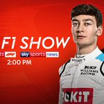 A jam packed episode of #TheF1Show for you today!  - @WilliamsRacing driver and #VirtualGP winner @GeorgeRussell63 ✅ - @HaasF1Team boss Guenther Steiner ✅ - @SilverstoneUK managing director Stuart Pringle ✅  📺 Sky Sports F1 | Sky Sports News | 2:00 PM  #SkyF1 | #F1
