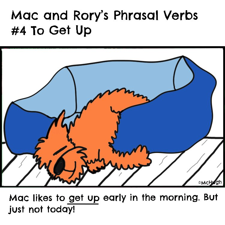 Mac is finding it hard to get up today! For the full list of phrasal verbs we've done so far, check out Mac and Rory's Grammar Stories at...   http://www.macandrory.com   #english #englishgrammar #phrasalverbs #englishforkids #teachingenglish #learningenglishpic.twitter.com/ZLXmZlRwLE