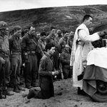 Image for the Tweet beginning: A Catholic Priest conducts mass