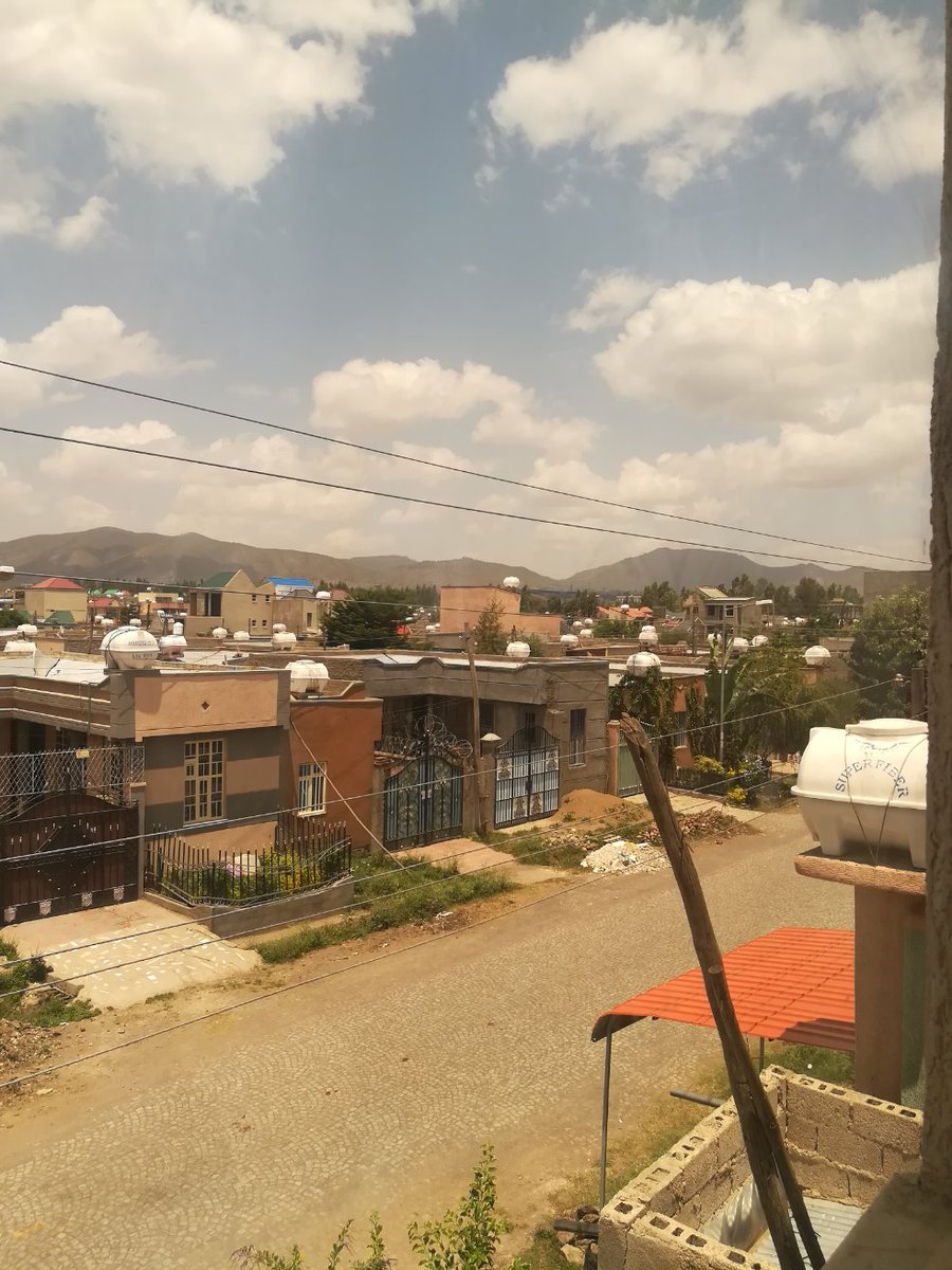 Show me the #ViewFromYourWindow! We're all getting a little stir crazy, so let's celebrate our #quarantine with a little #worldwide #travel through #pictures!   Here's Ethiopia. :)pic.twitter.com/F6hIaFY9WD