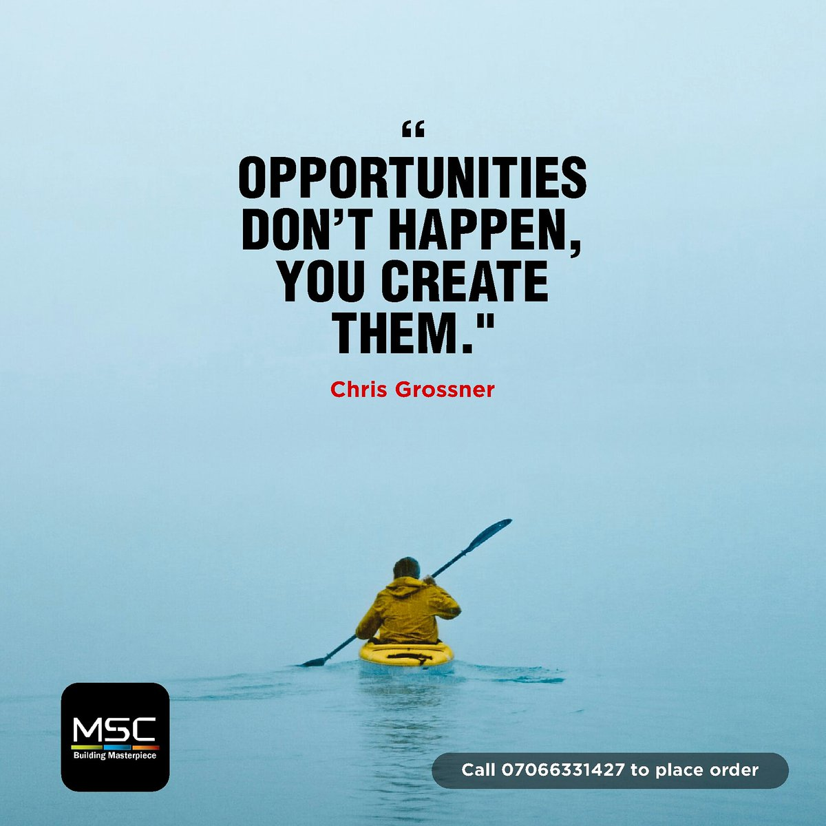 Create your own opportunities!  #mondaypush  #staysafe #createyourstory  #MondayMotivation  #AfricaDay2020pic.twitter.com/YabAhAaLrO