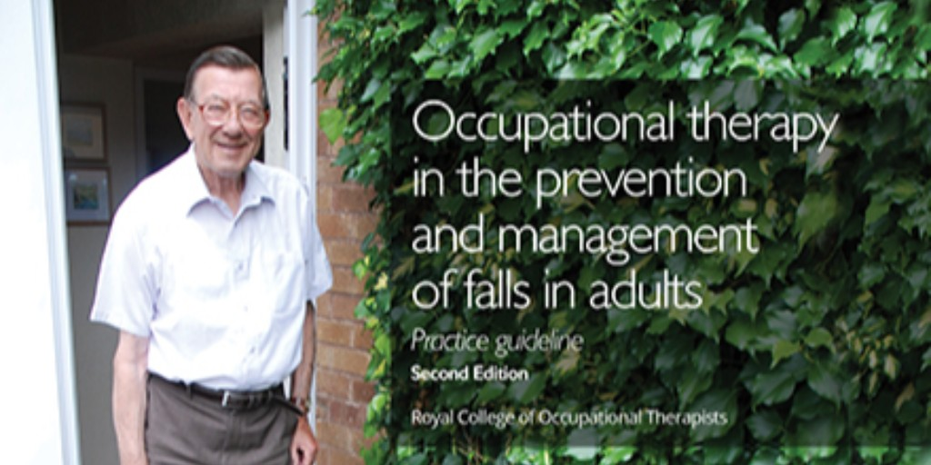We have three implementation tools that you can use to help prevent and manage falls in adults. Find out more in our latest Falls practice guideline available to download from rcot.co.uk/falls-guideline @RCOT_OP