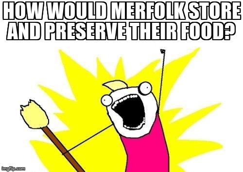 How would merfolk store and preserve their food? https://worldbuilding.stackexchange.com/questions/61462/73243… #merfolk #underwater #food #realitycheckpic.twitter.com/myVUuH6THE