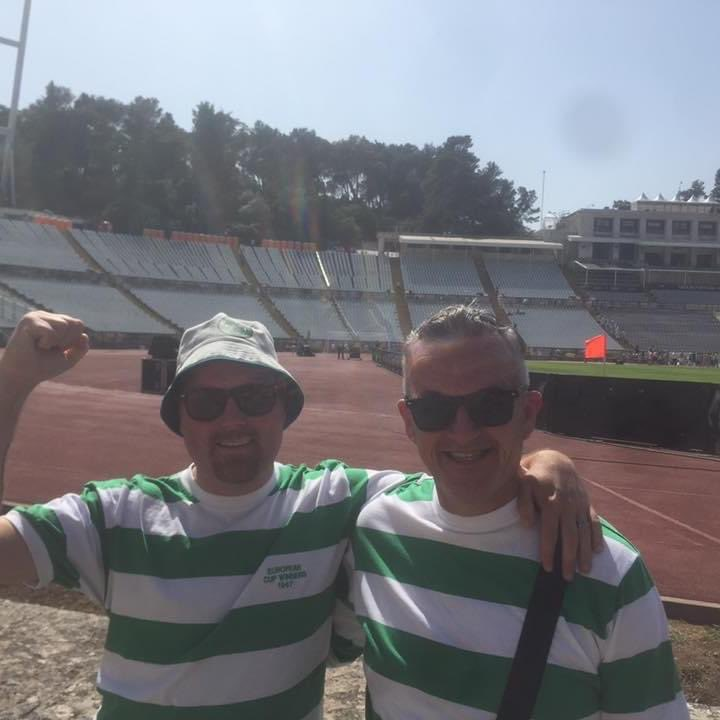 Happy big cup day #Lisbon @CelticFCSLO pic.twitter.com/V5u6o3zvNa