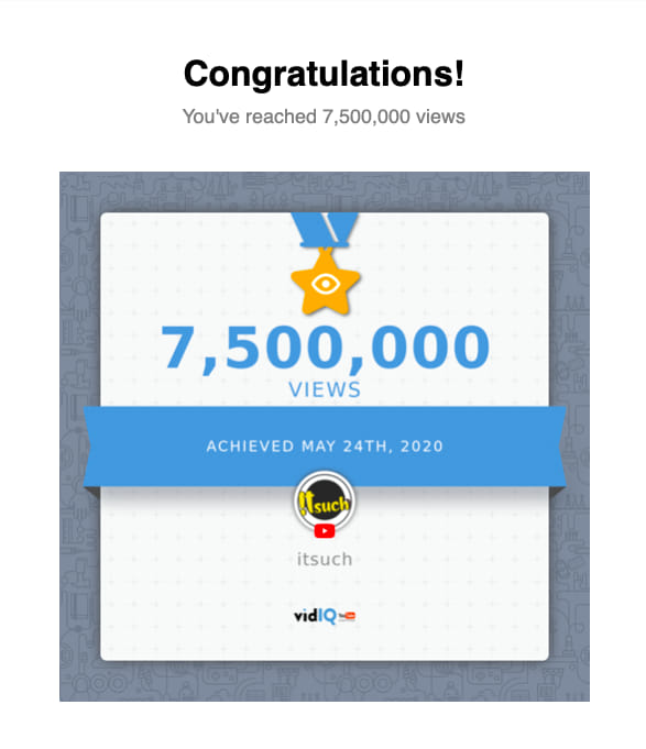 7.5 Million Views completed on YouTube  Thank you for all your support Check out our channel https://www.youtube.com/itsuch #itsuch #pune #Mumbai #Maharashtra #YouTuber #Marathi #YoutubeIndia #India #nashik #nagpur #vidarbha #comedy #Subscribe #milestone #marathimeme #marathinewspic.twitter.com/U98J02kCr1