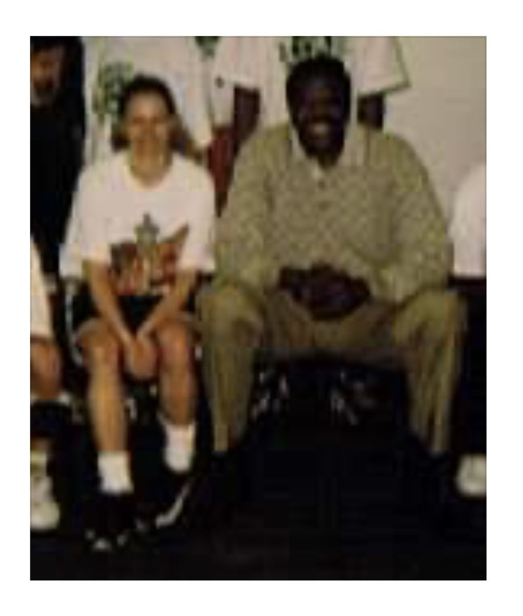 Me w/ Patrick Ewing when I worked as a kids camp coach for the Seattle SuperSonics. Only pro I got my photo w there as not too into celebs and autographs. Poor quality Polaroid w a bunch of other coaches. I asked for the photo which I never do. Get well, please. https://twitter.com/coachewing33/status/1263964626271776769…pic.twitter.com/x36v2tgcnz
