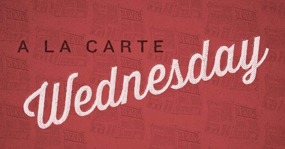 A La Carte: Anderson Cooper and the new normal / fingerprints / peacemaking in the church / a tribute to Joyce Lin / recipe for a grocery revolution / why home prices arent dropping / and more. challies.com/a-la-carte/a-l…