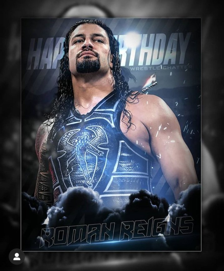 Happy Birthday Big Dog @WWERomanReigns 🎂💪❤  #HappyBirthdayRomanReigns #HappyBirthdayRoman #WWERaw #SmackDown https://t.co/9kouslvUmb