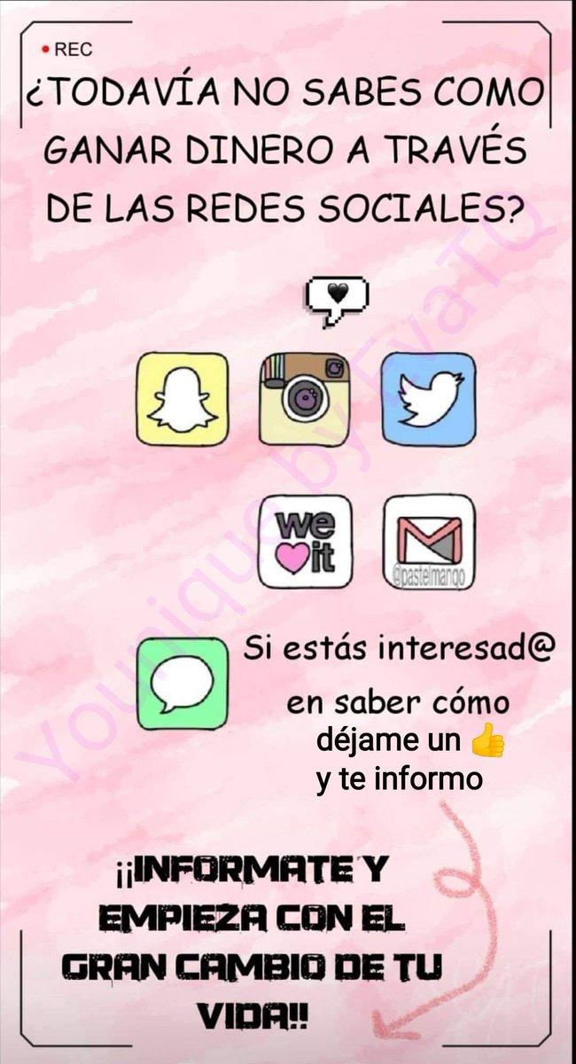 ¡Buenos días Jóvenes!  #ganardinero #RedesSociales #trabajadesdecasa https://t.co/HKciv4T7CV
