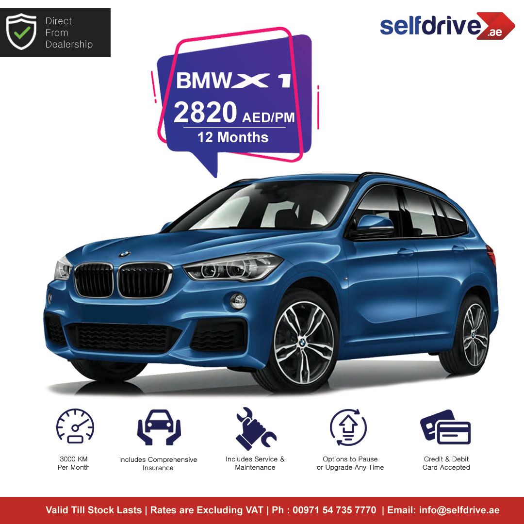 Best Offers on Monthly Rentals!!  For Phone Booking Call : +971 4 2789947 (9am-6pm)  Website :   Android APP:  …  iOS APP:    #BMWX1 #BMW #X1 #selfdriveuae #carrental #Dubai #AbuDhabi #Sharjah