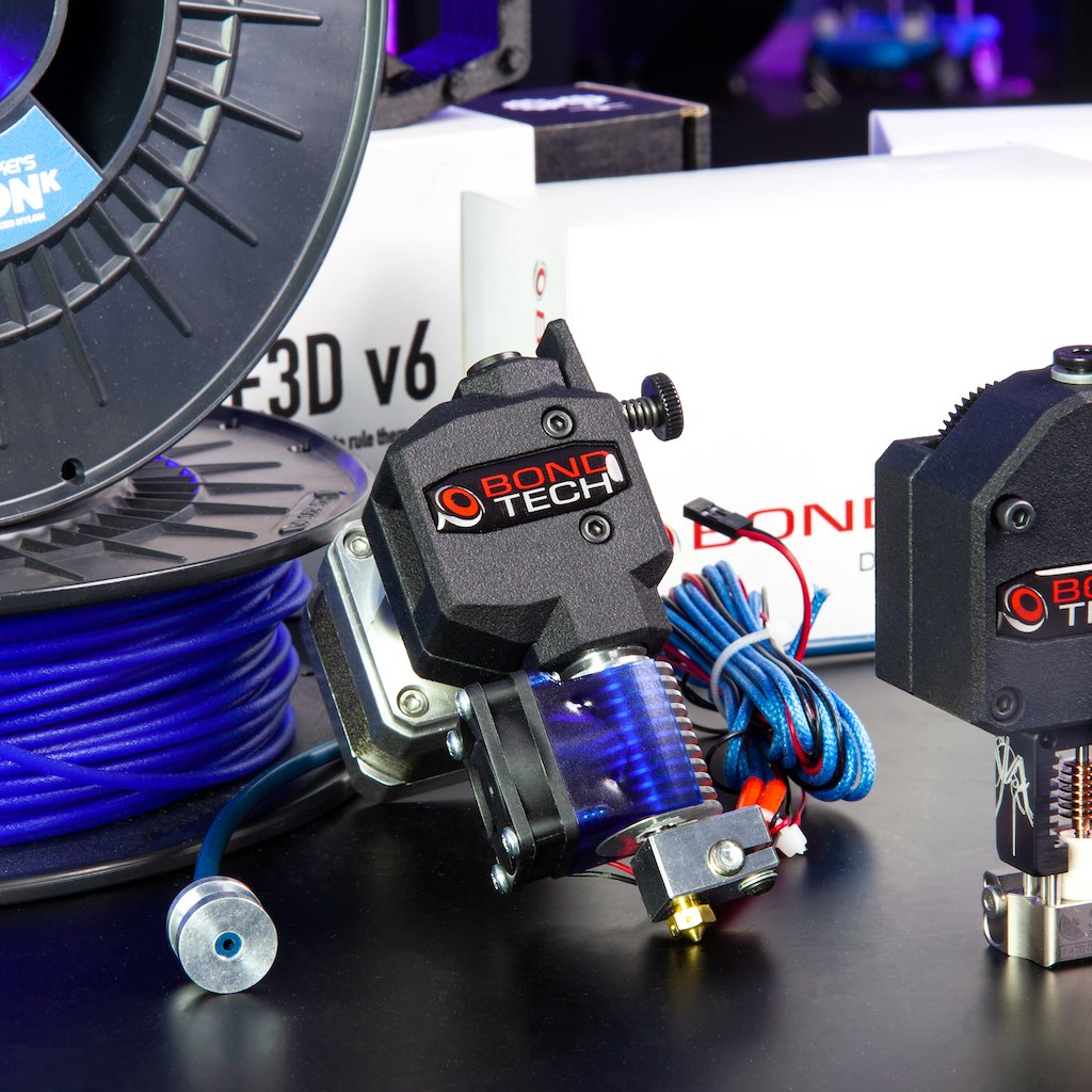 Eliminate the risk of grinding, slipping, #filament deformation, and under extrusion with Bondtech #extruders which use two counter-rotating drive gears for a secure and stable filament feed. See all the available Bondtech extruders here: