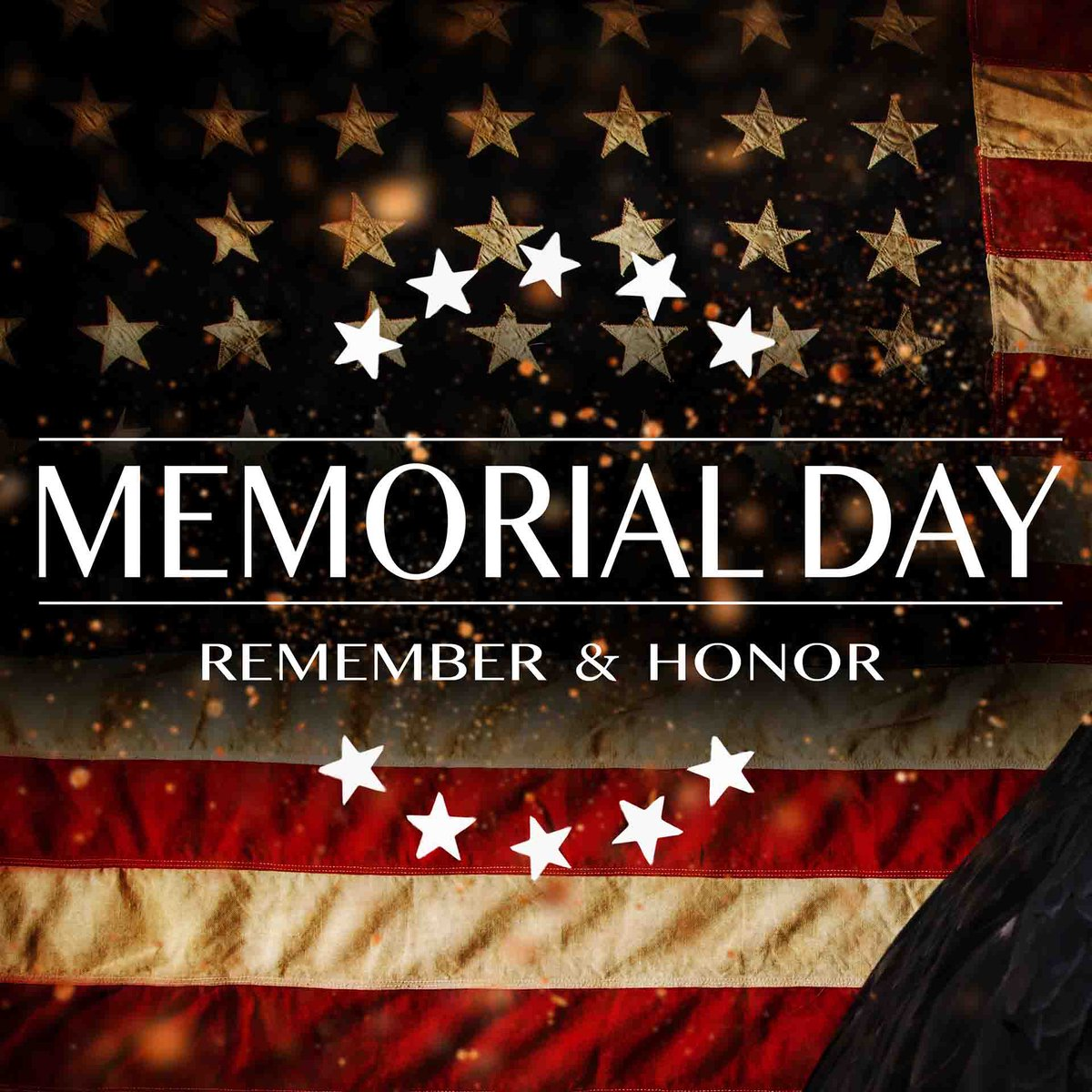 ...we remember. Thank you.  🦅🇺🇸  #MemorialDay2020 #MemorialDay #RememberAndHonor #USA #army #navy #airforce #marines #coastguard #military #red #white #blue #sacrifice #country #flag #freedom #price #love #weremember