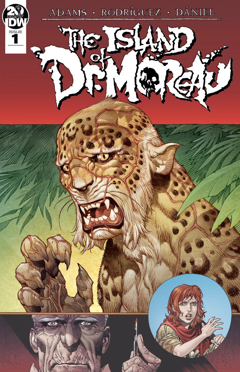 IDW's 2019 adaptation of The Island Of Dr. Moreau is a fantastic yarn of pure #horror condensed into just two issues. I read it today after revisiting Wells' novel not so long ago, and it was glorious. Feast your eyes on some of Gabriel Rodriguez's nightmarish images. #comics pic.twitter.com/WRD7uHakjJ