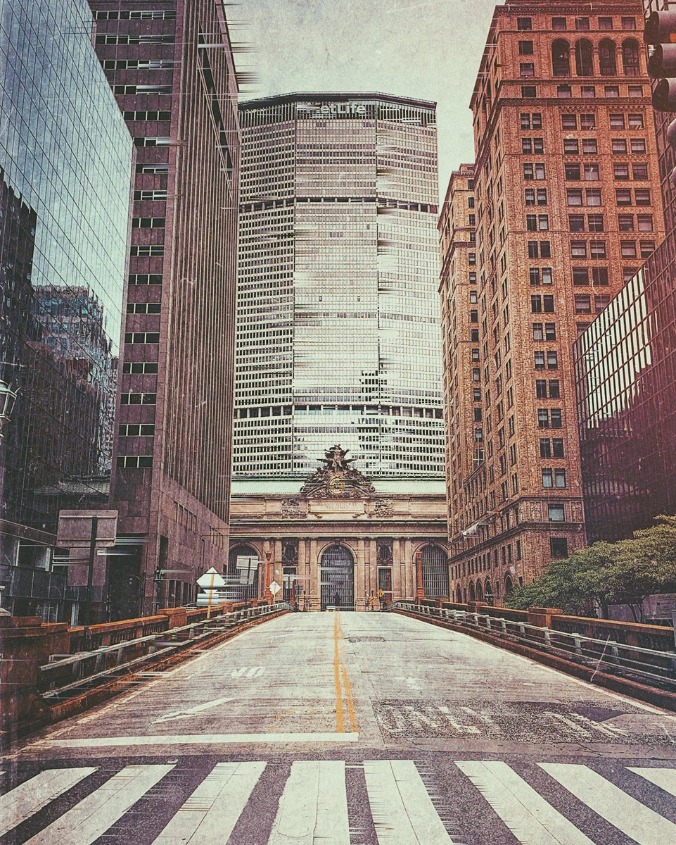 New York. Memorial Day Weekend, 2020.  •  #NewYork #VSCO #NYC #vscocam #Mextures #Decim8 #GlitchArt #shotoniphone #NewYorkCity #GrandCentral #Manhattan #Snapseed #Empty