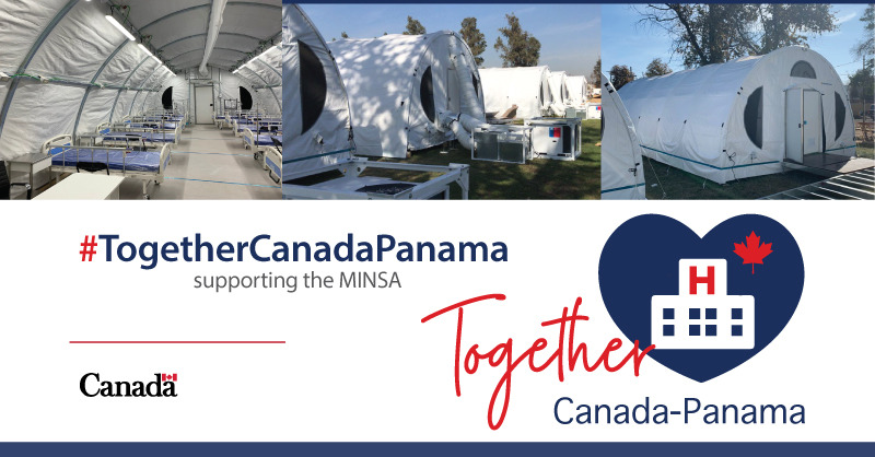 In support of the Panamanian Health Ministry and with the help of the Panamanian Red Cross, a modular and mobile hospital will be donated, expanding #Panama's intra-hospital care capacity. pic.twitter.com/700qn8S4wx